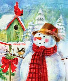 Pinzellades al món: Nadal-ninots de neu
