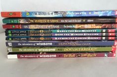 Secrets of Droon Beast Quest Adventures of Wishbone Series Lot 9 Chapter Books