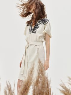 madewell embroidered paradise dress.