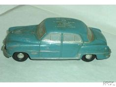 1952 Dodge Coronet 4 Door Sedan Banthrico promo model