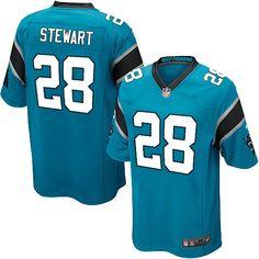 Youth Nike Carolina Panthers #28 Jonathan Stewart Limited Blue Alternate NFL Jersey Sale
