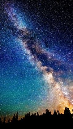 The Milky Way at Night - to keep it all in perspective