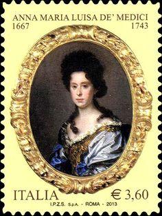 2013 - 270º anniversario della morte di Anna Maria Luisa de' Medici - Ritratto di Anna Maria Luisa de' Medici, opera di A.Franchi