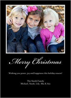 Christmas Frame Christmas Card