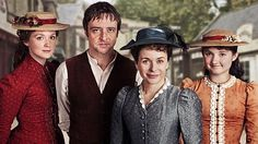 Lark Rise to Candleford (BBC) Adaptation of Flora Thompson's memoir of her Oxfordshire childhood, set in the small hamlet of Lark Rise and the wealthier neighbouring market town, Candleford, at the end of the 19th Century.