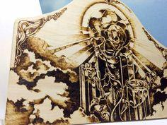 "Art - Kim Sulrok (Snowdeer) | blessing"" Woodburning Art (Pyrography) by Snowdeer"