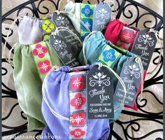 Favor Bags For Weddings & More with Renaissance Ribbons | Sew4Home