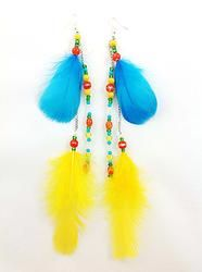 Item E110 $20.00 feathers and beads. www.ndjdesigns.com