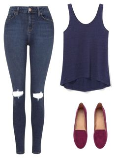 """""""Untitled #347"""" by c00ckie-lipa ❤ liked on Polyvore featuring Topshop, Rebecca Minkoff and H&M"""