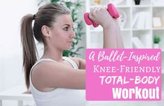 Jessica Smith is at it again with a 30-minute Barre routine that works your whole body while being gentle on the knees. You're guaranteed to sweat with a smile on your face.