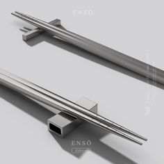 is raising funds for Ensō: Eco-Friendly Pure Titanium Cutlery, Chopsticks & Straw on Kickstarter! Made with medical grade pure titanium, Ensō redefines the art of fine dining.