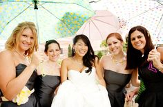 wedding pictures OUTSIDE in the rain