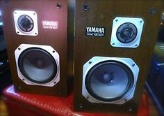 Vintage Yamaha NS 20T Natural Sound Home Stereo Floor Bookshelf Speakers 80WATTS