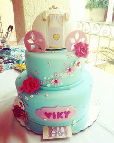 Pastel cenicienta  Cinderella cake