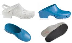 Variety of 17 colors, 2 styles; either without upper vents or with upper vents (Both styles have lower vents to aid your feet), Comfort insoles, and heel straps, you are able to customize your Calzuro footwear in a variety of different ways. Some of our Customers even mix-and- match heel strap kit and color of Calzuro.