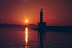 Sunset in Chania by TalyaPhoto on @creativemarket