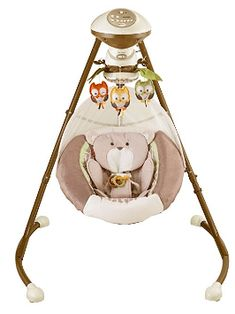 One of our Best Baby Swings of the Year, Check out the Fisher-Price My Little Snugabear Ballerina Cradle 'n Swing : Baby Fisher Price, Baby Swing For Outside, Best Baby Bouncer, Swings For Sale, Baby Swings And Bouncers, Rock N Play Sleeper, Owl Mobile, Baby Rocker, Baby Jumper