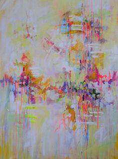 "Saatchi Art Artist: Marta Zawadzka; Acrylic 2013 Painting ""ME - canvas"""