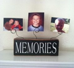 How to make Memories Picture Display - DIY Craft Project with instructions from Craftbits.com