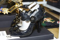 Dolce & Gabbana Spring 2016 Backstage #ItaliaIsLove  #shoes