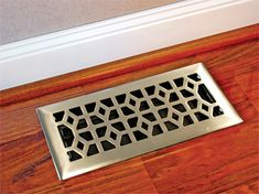 Marquis Cast Satin Nickel Floor Register Find It In A Variety Of Sizes And Finishes On