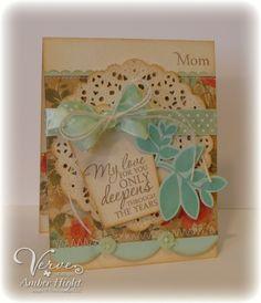 The Stamping Scrapbooker: Viva la Verve! May Week 2--Happy Mother's Day
