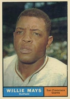 1961 Topps Willie Mays #150 Baseball Card
