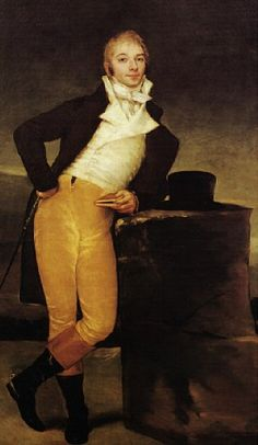 Portrait of the Marques de San Adrian, 1804 by Francisco de Goya (1746-1828)
