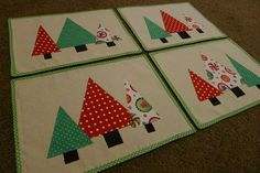 christmas placemats - Google Search
