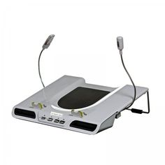 """The Sharper Image Multimedia Cooling Laptop Stand (White) (3.5""""H x 13.75""""W x 13""""D)"""