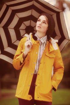 Rainy day inspiration from Confezioni Crosby's fall 2013 lookbook. -Becky Malinsky
