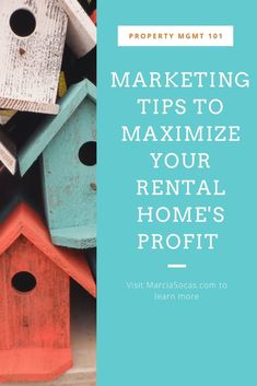 You've bought a rental home, now what? Market and very lightly stage it so that you can maximize your rental rate, minimize the vacant days on market, and reach your real estate investment goals. Rental Property, Real Estate Investing, Stage, Goals, Marketing, Learning, Home, House, Ad Home