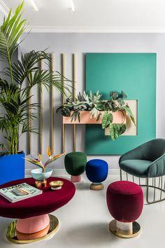 Workplace cubiste |MilK decoration