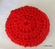 crochet net scrubber pattern Free Nylon Pot Scrubber ...