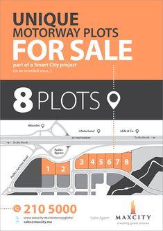 MaxCity - Unique Motorway plots available ! Tel: 210 5000