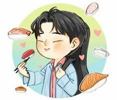 Day6 Dowoon, Kpop Fanart, Photo Illustration, Korean Boy Bands, Cute Drawings, Art Inspo, Mini Albums, Chibi, Kawaii