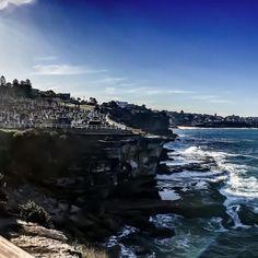 (Loc) Posted on May 22 2016 at 06:32AM by cottincandyangel: #Sydney ocean walk