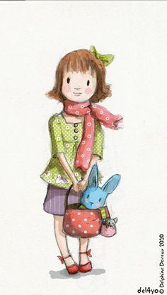 Le lapin dans la lune - Non dairy Diary - Pretty ingreen