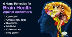 Alzheimer's Disease Home Remedies & Lifestyle Changes for Better Brain Health Home Remedies, Natural Remedies, Naturopathic Physician, Mind Diet, Best Brains, Self Regulation, Brain Activities, Mind Games, Brain Health