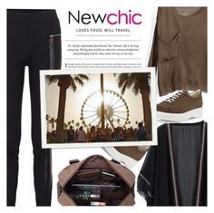 """""""#newchic ♥"""" by av-anul ❤ liked on Polyvore featuring Robert Clergerie, Été Swim, chic, New, newchic and avanul"""