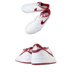 NIKE AIR JORDAN 1 RETRO LOW OG ナイキ エア ジョーダン 1 レトロ ロー OG WHITE/VARSITY RED