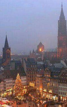 Christmas Market, Strasburg