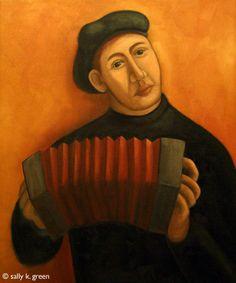 concertina player