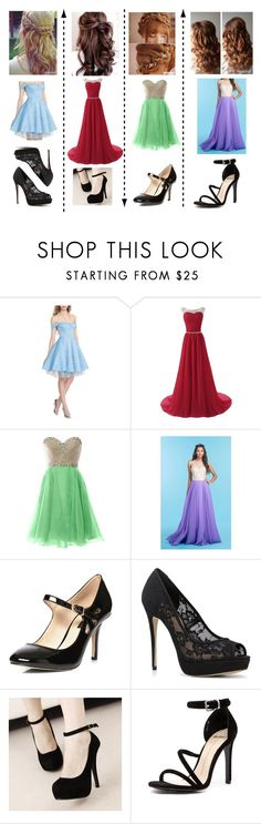 """Hijacking the ball"" by frootloop16 ❤ liked on Polyvore featuring Disney, COYA Collection, Dorothy Perkins, ALDO and Mollini"