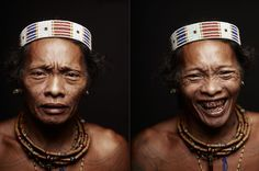 The Mentawai are a tribe living in the rainforest of Siberut, Indonesia. With the exception of owning pigs and cultivating sago, the Mentawai are hunter-gatherers looked after with devotion by their medicine men- the Sikeri, or Shamans. African Tribal Girls, Forest People, Mexican Colors, Hunter Gatherer, Beauty Around The World, Nyc, Native American, Faces, Colours