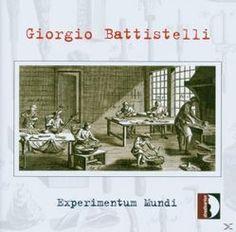 Prezzi e Sconti: #Experimentum mundi  ad Euro 18.90 in #Stradivarius #Media musica classica