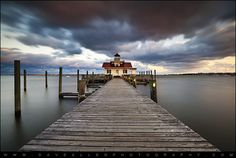 Manteo Lighthouse - Roanoke Island - Outer Banks NC by Dave Allen Photography, via Flickr