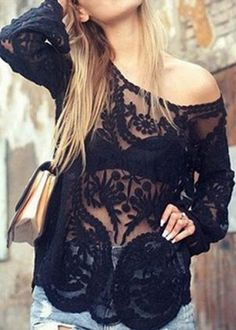 Anything black and lace yes please!!!