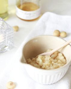 DIY: Macadamia Body Scrub | Meersalz, Australian Macadamias, Honig & Öl. | Körperpeeling selber machen