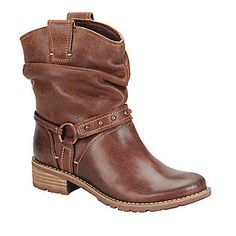 """Sofft """"Adan"""" Ankle Boots in Drum Brown"""